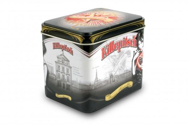 Killepitsch 42% - Premium Kräuterlikör in der edlen Metallbox 12 x 0,02 Ltr. Fl.