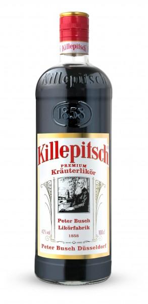 Killepitsch 42% - Premium Kräuterlikör 1,00 Ltr.
