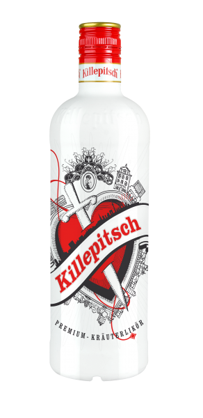 Killepitsch 42% - Premium Kräuterlikör Design 2019 White 0,70 Ltr.