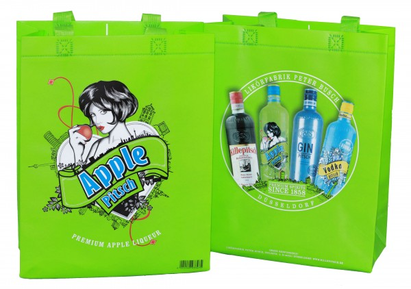 Applepitsch Shopping Bag 25x32x10 cm