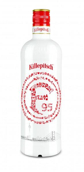 "Killepitsch 42% - Premium Kräuterlikör Design ""F95"" weiss 0,70 Ltr."