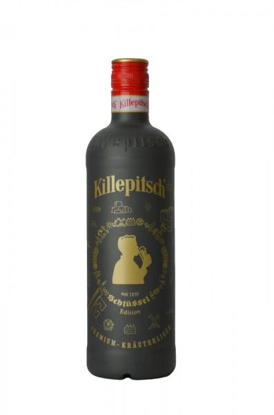 "Killepitsch 42% - Premium Kräuterlikör Design ""Schlüssel"" 0,70 Ltr."