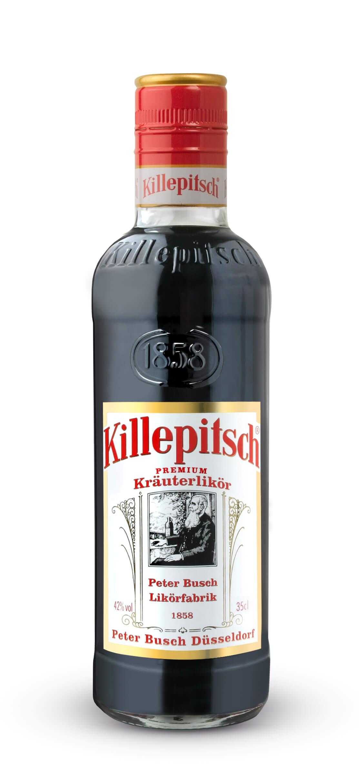 Killepitsch 42% - Premium Kräuterlikör 0,35 Ltr. | Killepitsch