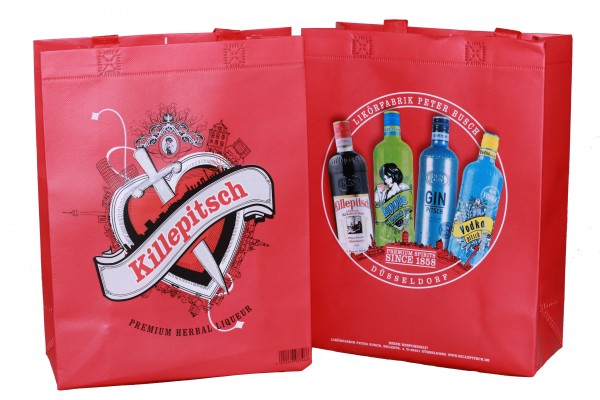 Killepitsch Shopping Bag 25x32x10 cm